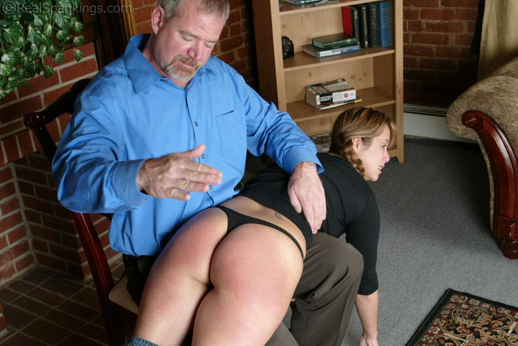 real spanking